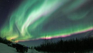 Aurora viewing, Fairbanks, Alaska