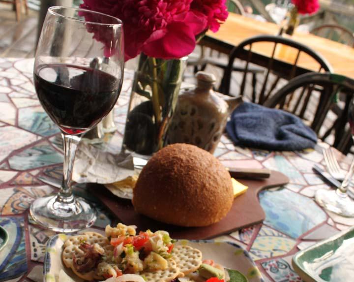 Fine dining in Alaska