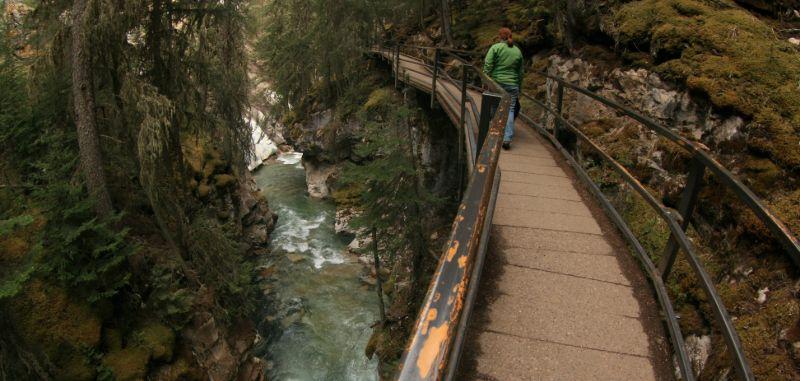 Johnstone Canyon, Banff National Park, AB
