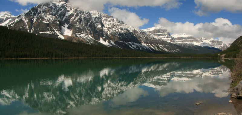 Lake along the Icefield Parkway, Banff National Park, AB