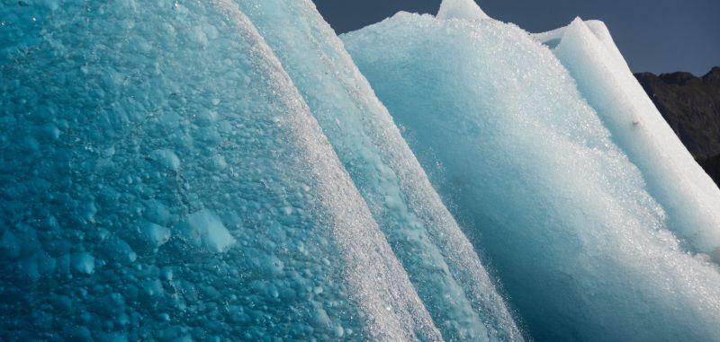 Icebergs, Columbia Glacier, Alaska
