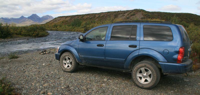 4x4 SUV, Denali Hwy, Alaska