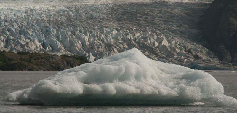 Iceberg near Grewingk Glacier, Kachemak Bay State Park, Alaska