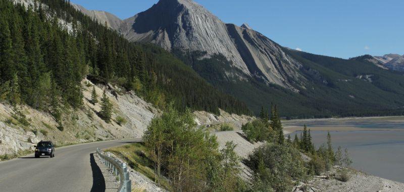 Maligne Lake Road, Jasper National Park, AB