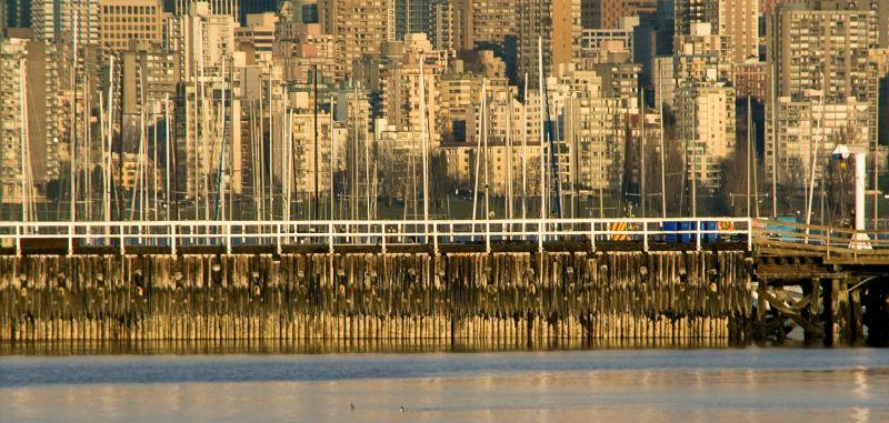 Vancouver skyline, Vancouver BC