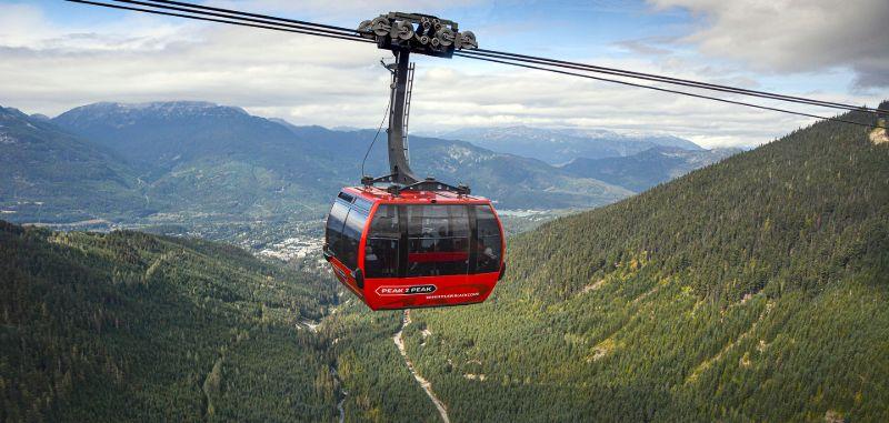 Peak2Peak tramway, Whistler, BC