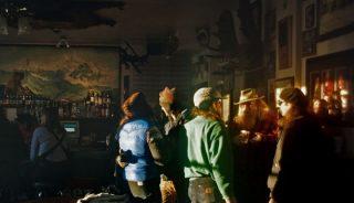 The bar at Talkeetna Fairview Inn, Alaska