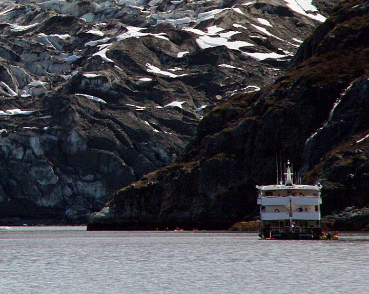 Small ship cruise, Glacier Bay National Park, Alaska