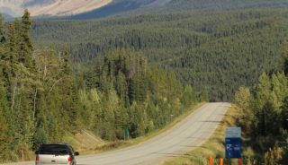 Yellowhead Highway, north of Jasper, AB