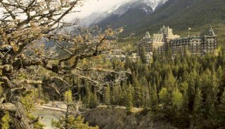Fairmont hotel in Banff, AB