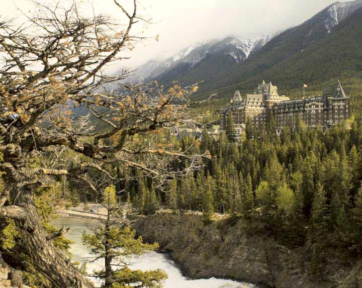 Fairmont hotel in Banff, AB